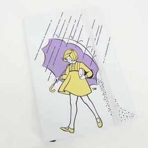 Morton Salt Girl Blank Notebook Journal